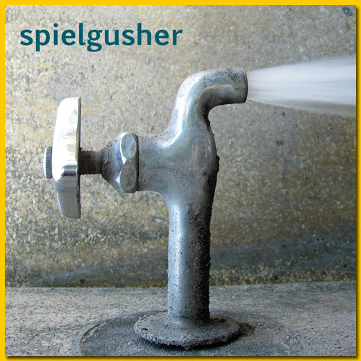 cover of spielgusher album